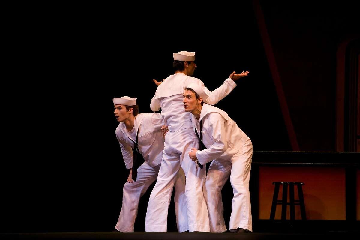 San Francisco Ballet in Robbins' Fancy Free.