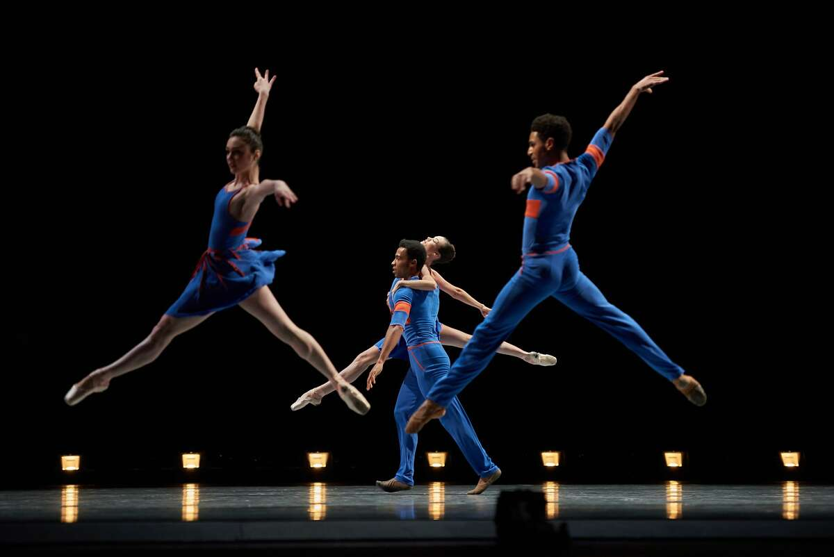 San Francisco Ballet In Millepied's The Chairman Dances.