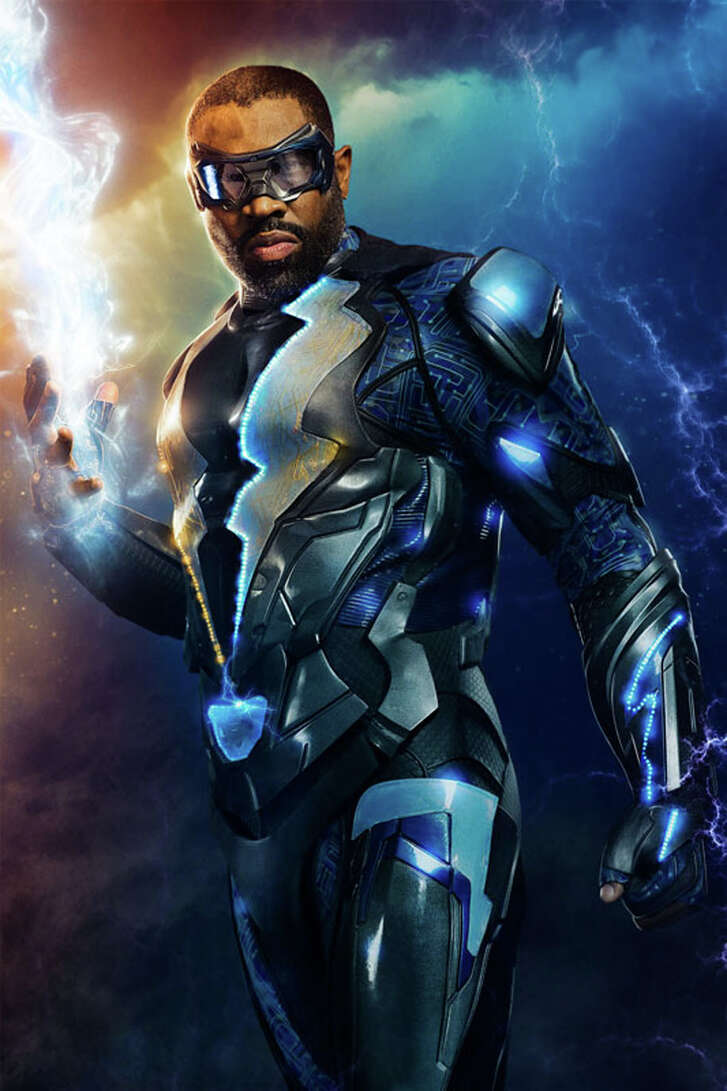 """Cress Williams stars at the title character in """"Black Lightning."""""""