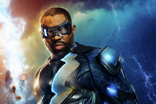"Cress Williams stars at the title character in ""Black Lightning."""