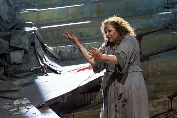 "Christine Goerke takes on the titular role in Houston Grand Opera's production of ""Elektra."""