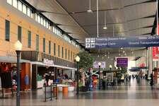 Bradley International Airport's terminal.