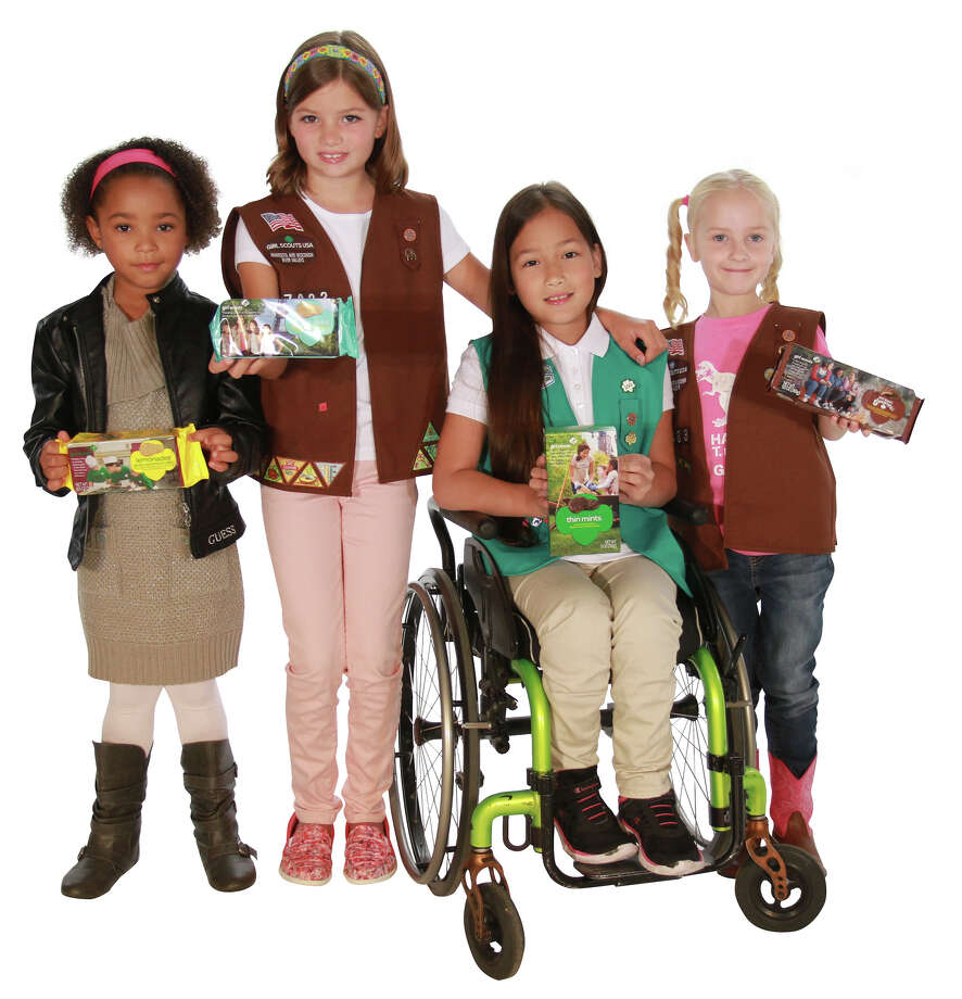 The Girl Scouts of San Jacinto Council is launching its Cookies4Heroes campaign to donate 10,000 cases of Girl Scout Cookies to first responders and military. Photo: Courtesy Photo