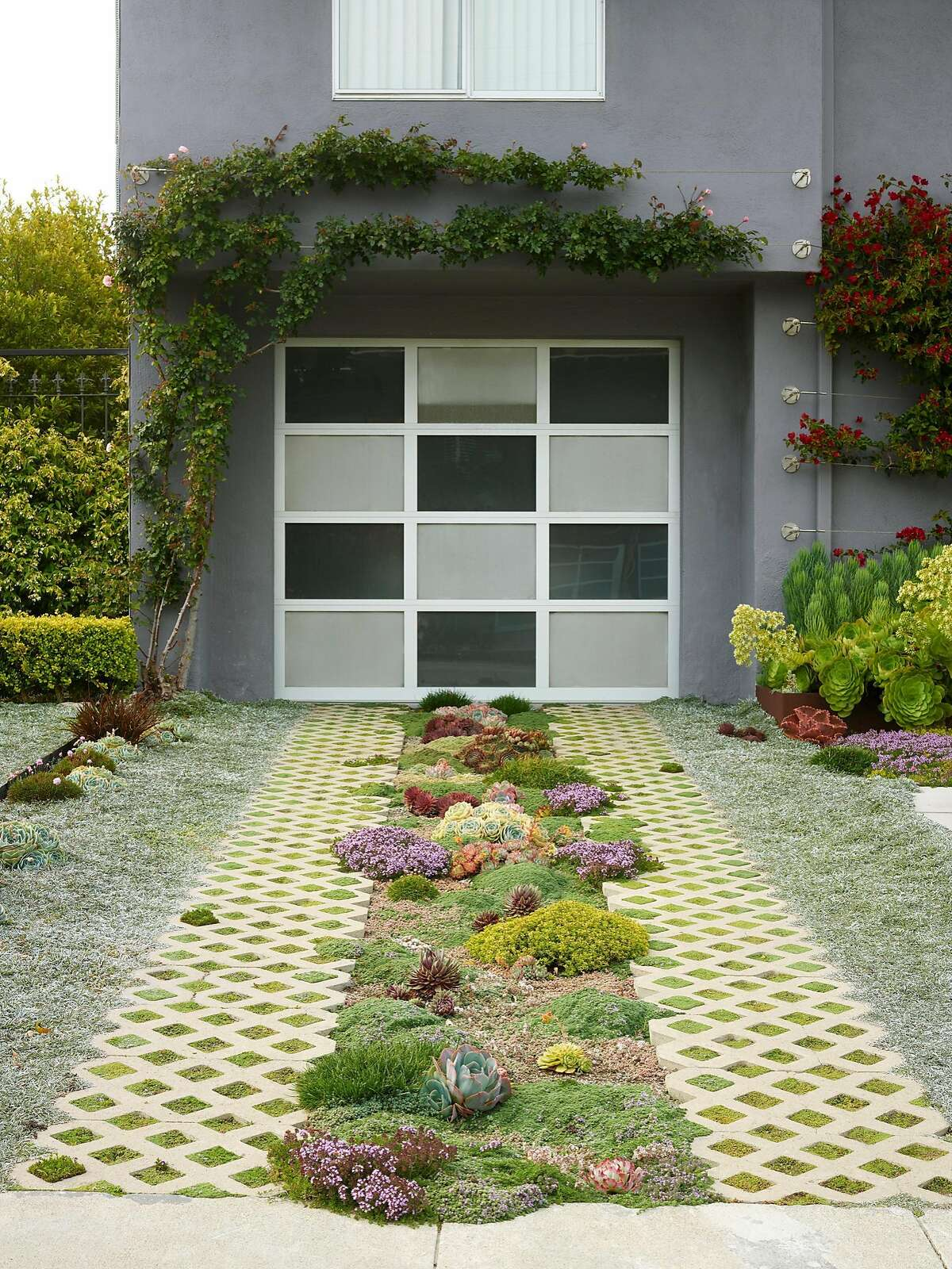 The Nash garden in S.F.