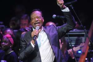 FILE - In this June 10, 2014 file photo, Edwin Hawkins appears at the Apollo Theater Spring Gala and 80th Anniversary Celebration in New York. Hawkins, the gospel star best known for the crossover hit �Oh Happy Day,� died Monday, Jan. 15, 2018, at his home in Pleasanton, Calif., at age 74. He had been suffering from pancreatic cancer. (Photo by Brad Barket/Invision/AP, File)