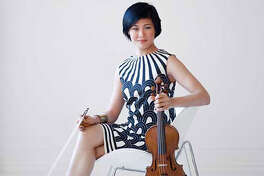 Jennifer Koh, violin (pictured above) and Shai Wosner, piano at Union College Memorial Chapel, Schenectady. 3 p.m. Sunday.