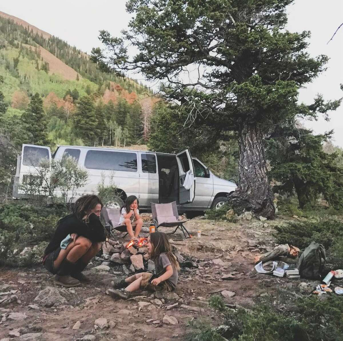 This family of five has been traveling full-time with kids for the past eight years.