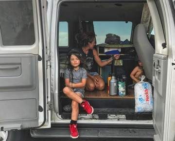 How a family of 5 makes the #vanlife work full-time - SFChronicle com