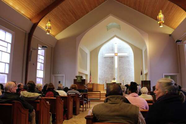 The United Methodist Chuch held a service in remembrance of Martin Luther King Jr. on Jan. 15, 2018.