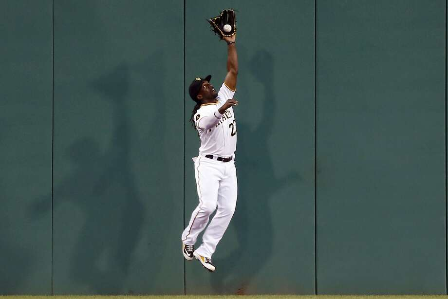 Longtime center fielder Andrew McCutchen will be the Giants' right fielder, while Hunter Pence moves to left. Photo: Keith Srakocic, Associated Press