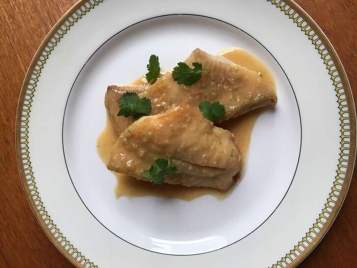 Sole with butter