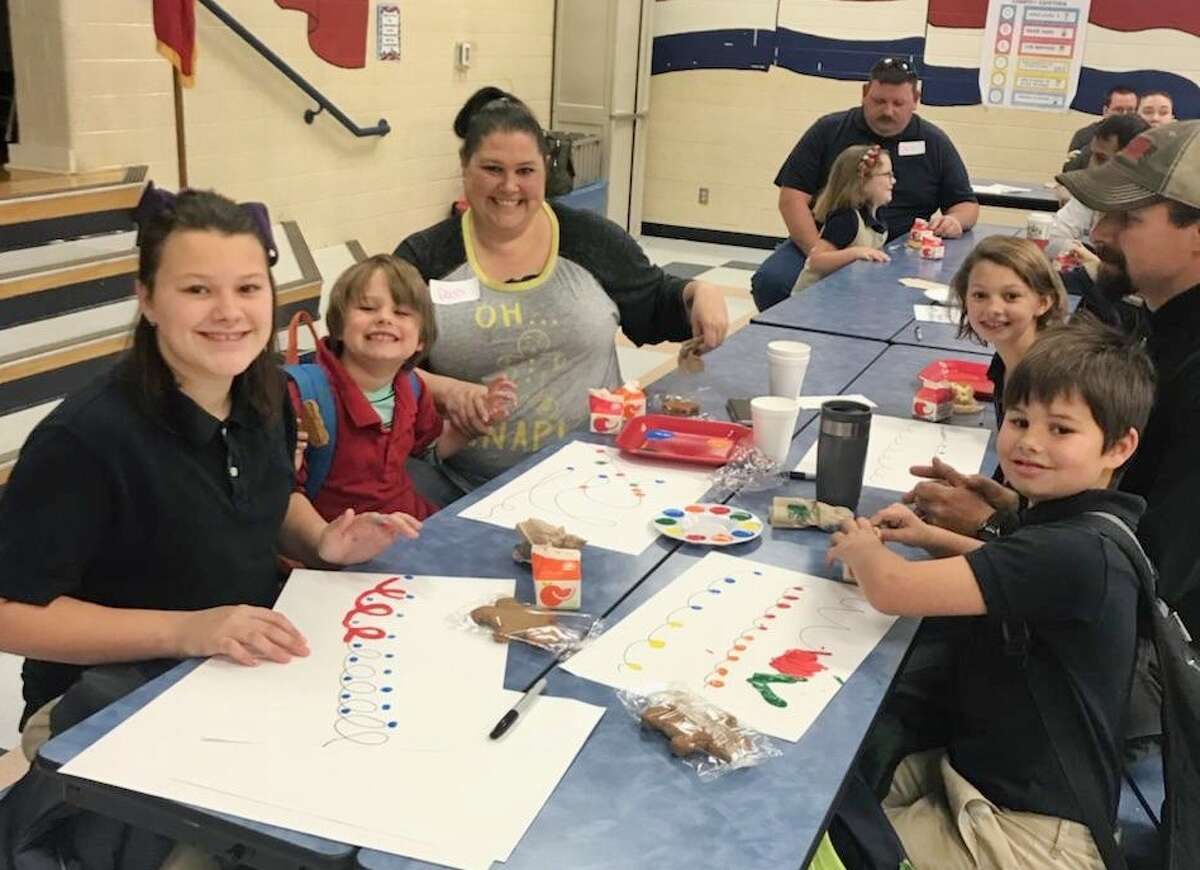 """Rusk Elementary's """"Donuts with Dad"""""""
