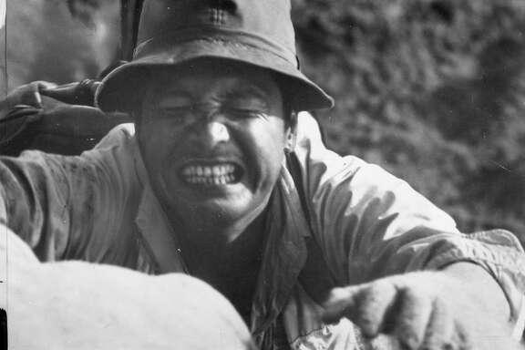 Eiji  Okada in movie Women of the Dunes, 1964  Handout  Photo ran 11/15/1964, Sunday Datebook