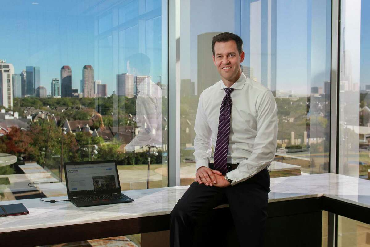 """Crown Castle CEO Jay Brown says: """"Our view long-term of where we believe the world is going is fiber is a necessity as wireless networks are deployed."""" Houston-based Crown Castle provides cell towers, fiber optics, and small cell technology."""