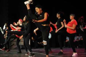 "The hip hop dance troupe Royal Heat performs at CONNECTUS' ""Bridgeport Has a Dream"" Martin Luther King, Jr. Day show at the Klein Memorial Auditorium in Bridgeport on Monday."