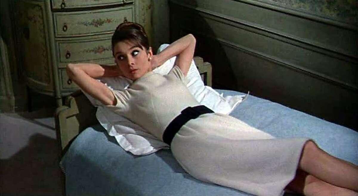 """Audrey Hepburn in """"Charade."""""""