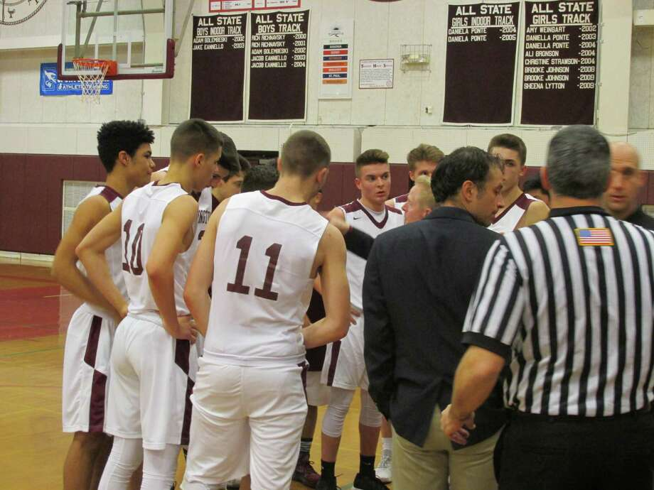 Six Torrington players combined for 17 3-pointers in Torrington's win over Watertown on Monday at Torrington High School. Photo: Peter Wallace / For Hearst Connecticut Media