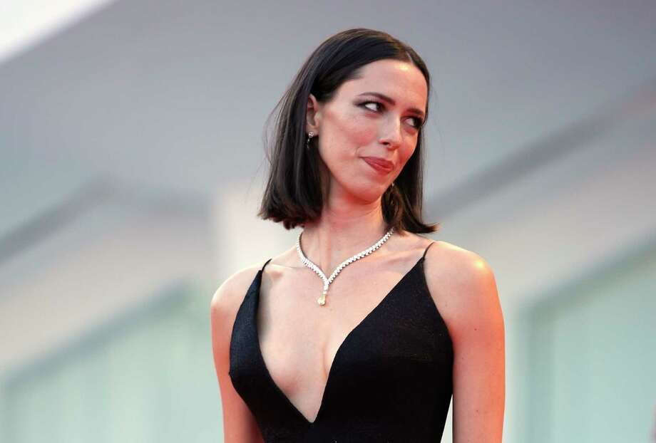 "FILE - In this Sept. 5, 2017 file photo, actress Rebecca Hall poses for photographers at the premiere of the film 'mother!' at the 74th edition of the Venice Film Festival in Venice, Italy,  Hall says she's donating her salary from the latest Woody Allen film to Time's Up. Hall said on Instagram she was hired for Allen's ""A Rainy Day in New York"" but is ""profoundly sorry"" and ""regrets"" her decision to work with the filmmaker. She said Friday, Jan. 12, 2018,  she reconsidered the job after reviewing molestation accusations by Allen's daughter Dylan Farrow. (AP Photo/Domenico Stinellis, File) Photo: Domenico Stinellis / Invision"