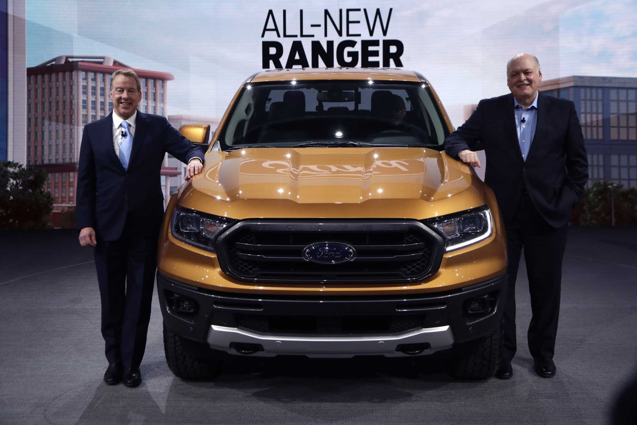 See what the new Ford Ranger will look like in 2019 Houston Chronicle
