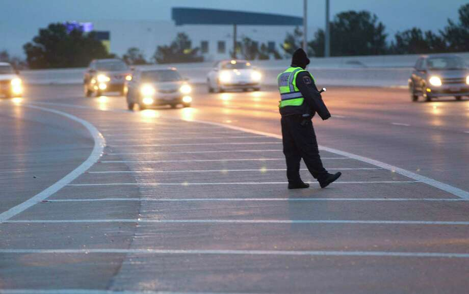 Houston Transtar is reporting closures Tuesday on northwest Harris County roadways due to an arctic cold front. Photo: Johnny Hanson, Staff / © 2014  Houston Chronicle