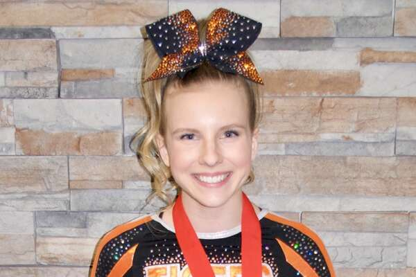 Paige Way, Edwardsville High School senior, was awarded the top scholarship at the ICCA State Championships on Saturday, January 6th, winning $4000.  Paige was also announced as an ICCA All-State Team member and Senior Scholar Athlete.  Paige has been on the Varsity Cheer Team at EHS for the past four years.