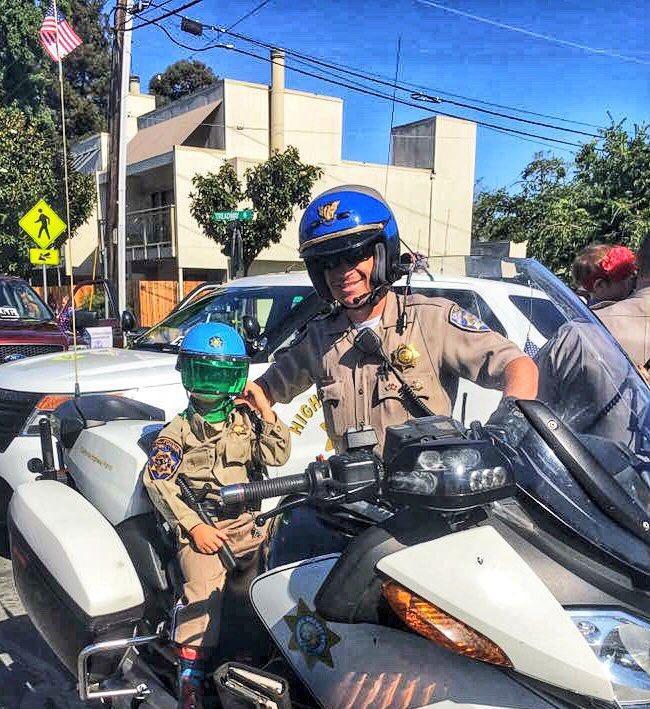 CHP Officer Calmly Called 911 After 6-car Crash Left Him