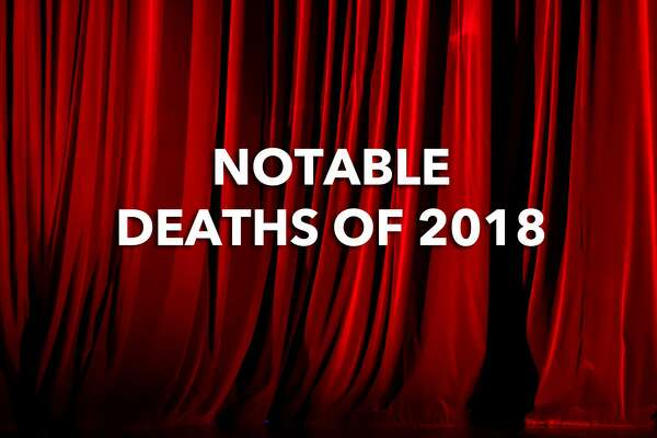 Notable Deaths of 2018