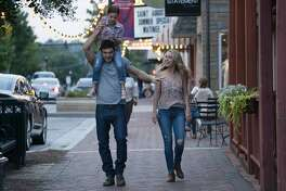 Alex Roe, Abby Ryder Fortson, and Jessica Rothe in 'Forever My Girl'