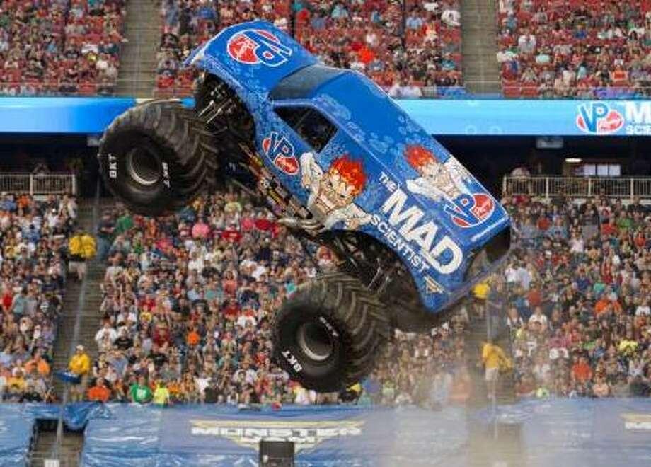Meet The Monster Trucks Coming To San Antonio San