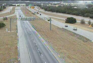 TxDOT camera images show San Antonio's eerily empty roadways