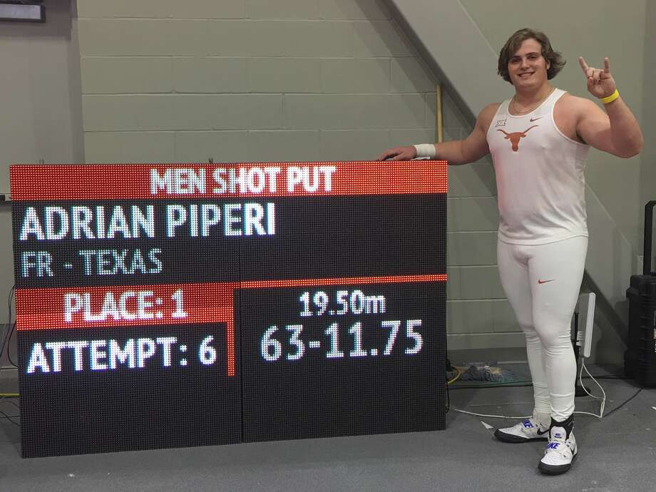 The Woodlands alum Adrian 'Tripp' Piperi is off to a great start throwing for the University of Texas. Photo: Twitter