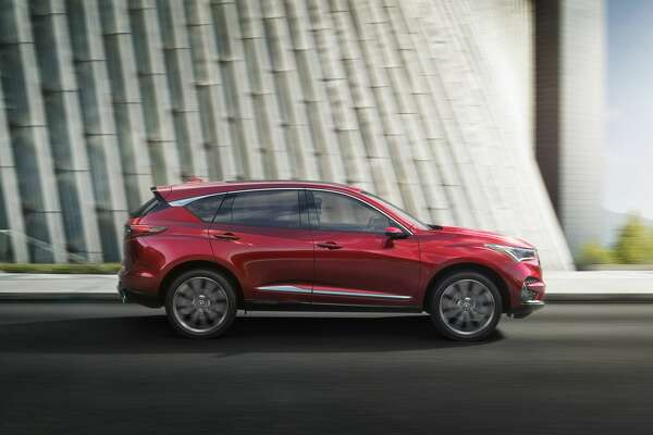 The 2019 Acura RDX Prototype, which debuted at the 2018 North American International Auto Show.