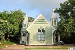 A church-turned-house is currently for sale in San Marcos, complete with vaulted ceilings and late-Gothic Revival architecture. The three-bedroom, two-story home was built in 1901, according to the Realtor.com listing, and is just blocks away from downtown San Marcos. The former Fort Street Presbyterian Church was added to the National Register of Historic Places in 1984.