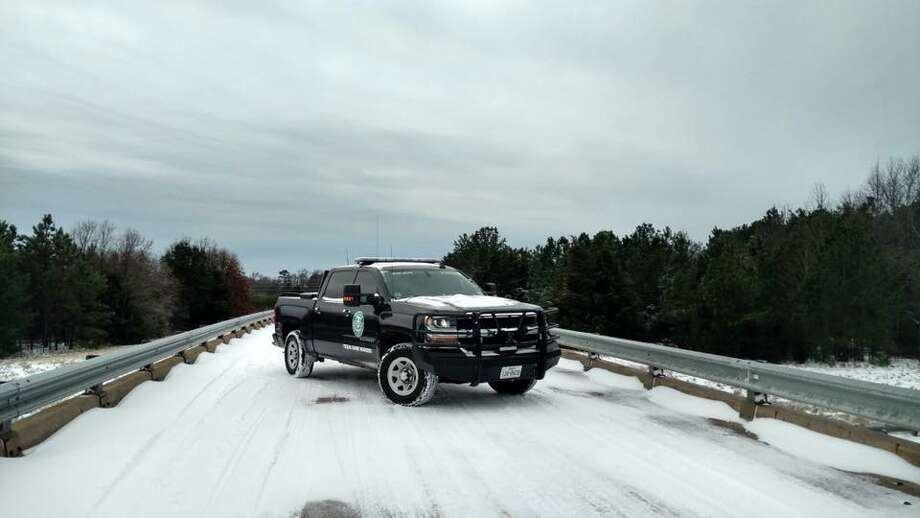 A Texas Game Warden's truck on January 16, 2018. Photo: Texas Parks And Wildlife Department