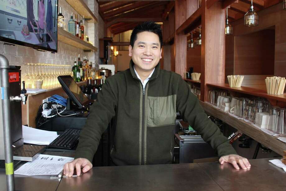 Skye Kwok, Owner of Eat Noodle. Photo: Jordan Grice / Hearst Connecticut Media / Connecticut Post