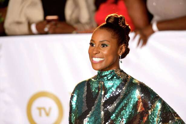 PASADENA, CA - JANUARY 15:  Issa Rae attends the 49th NAACP Image Awards at Pasadena Civic Auditorium on January 15, 2018 in Pasadena, California.