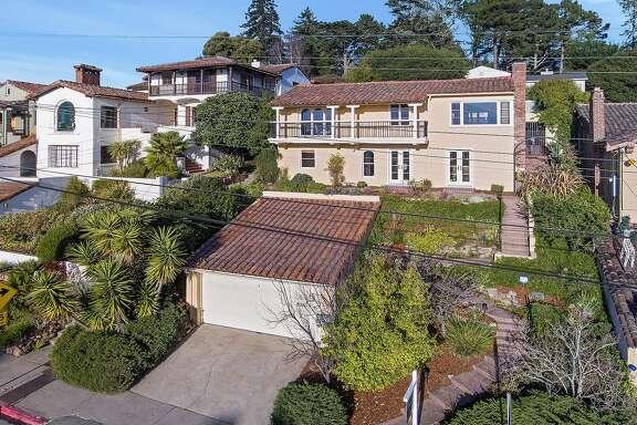 625 Spruce St. in Berkeley is a four-bedroom Mediterranean built in 1936.�