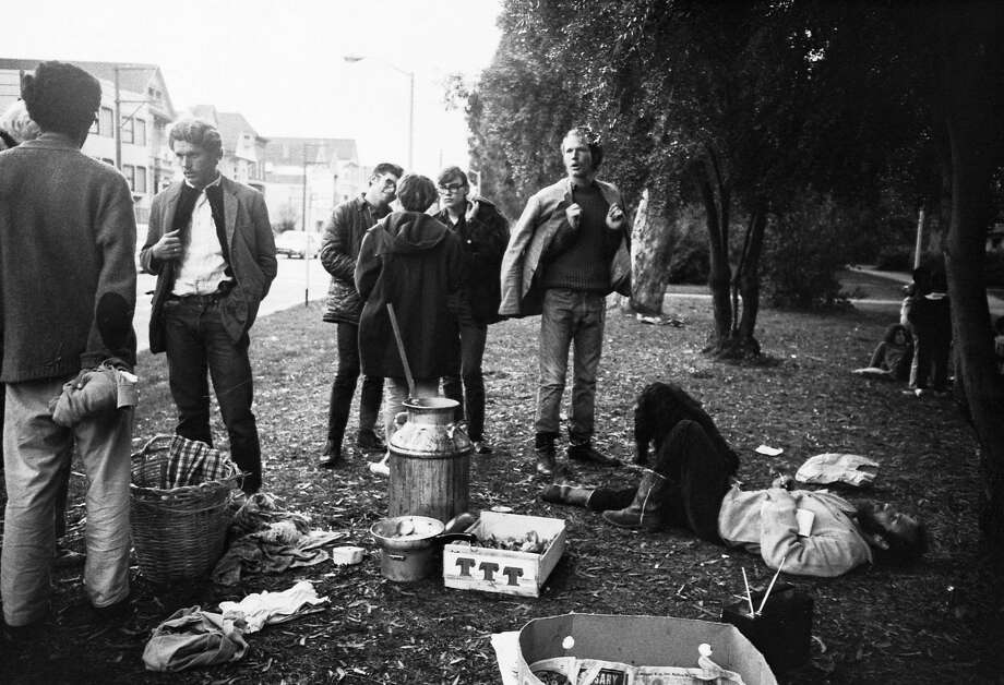 The Diggers provide free food in the Panhandle in S.F. Photo: Ted Streshinsky Photographic Archive, Corbis Via Getty Images