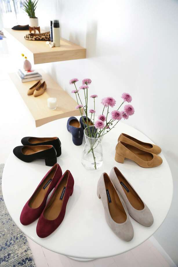 Margaux, a direct-to-consumer brand of ballet flats and sensible heels, has extended its Fillmore pop-up. Photo: Margaux