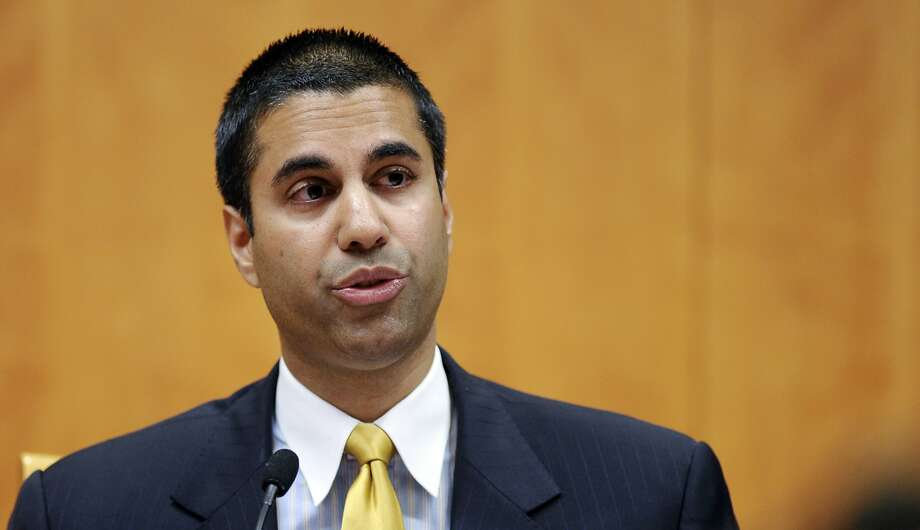 FCC Chairman Ajit Pai pushed for rule changes that eventually helped Sinclair. Photo: Susan Walsh, Associated Press