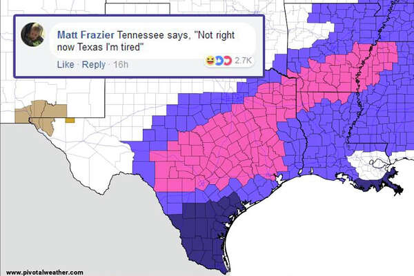 Internet Spots Crude Image In Texas Weather Map Sfchronicle Com