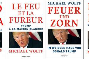 """Fire and Fury"" editions in Brazil, France, Germany and Italy."