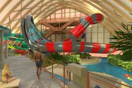 Rendering shows the new indoor waterpark at the Resorts World Catskills.