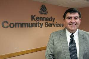 Rick Sebastian is the new President and CEO of The Kennedy Center, headquartered in Trumbull, Conn. Jan. 12, 2108.