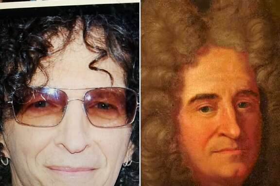"""Google's Arts and Culture App compares your selfies to classic works of art and provides the best match, like this image of Howard Stern compared to """"A Man, called Racine."""""""