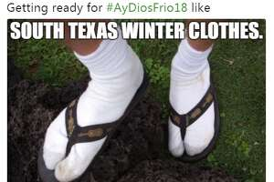 @AnotherJohn_: Getting ready for #AyDiosFrio18 like