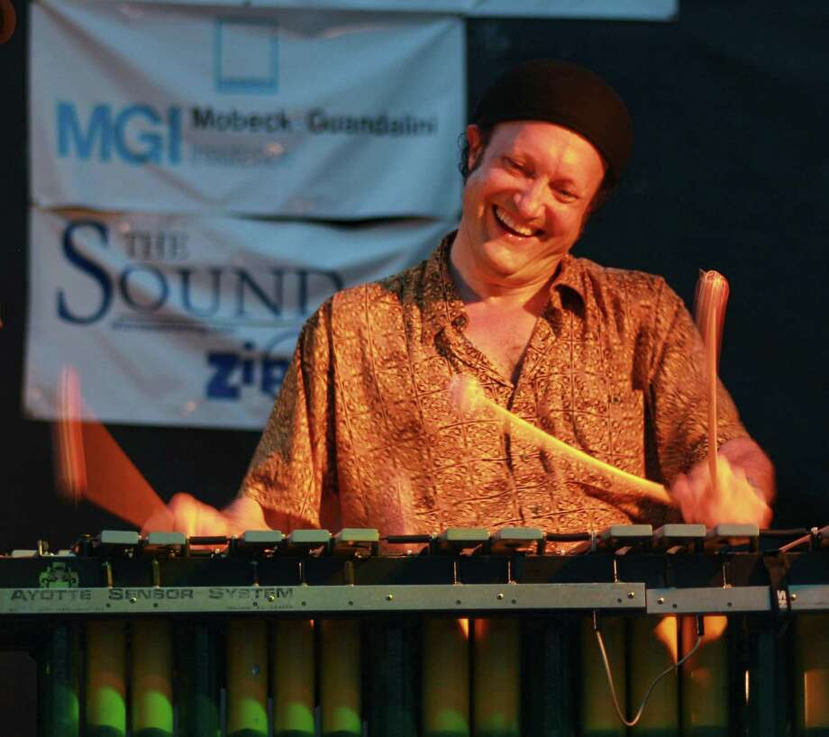 Wilton percussionist Arthur Lipner will return to Weston High School as a guest artist for a jazz concert on Feb. 9, 2018. Photo: Mike Franzman / Contributed Photo