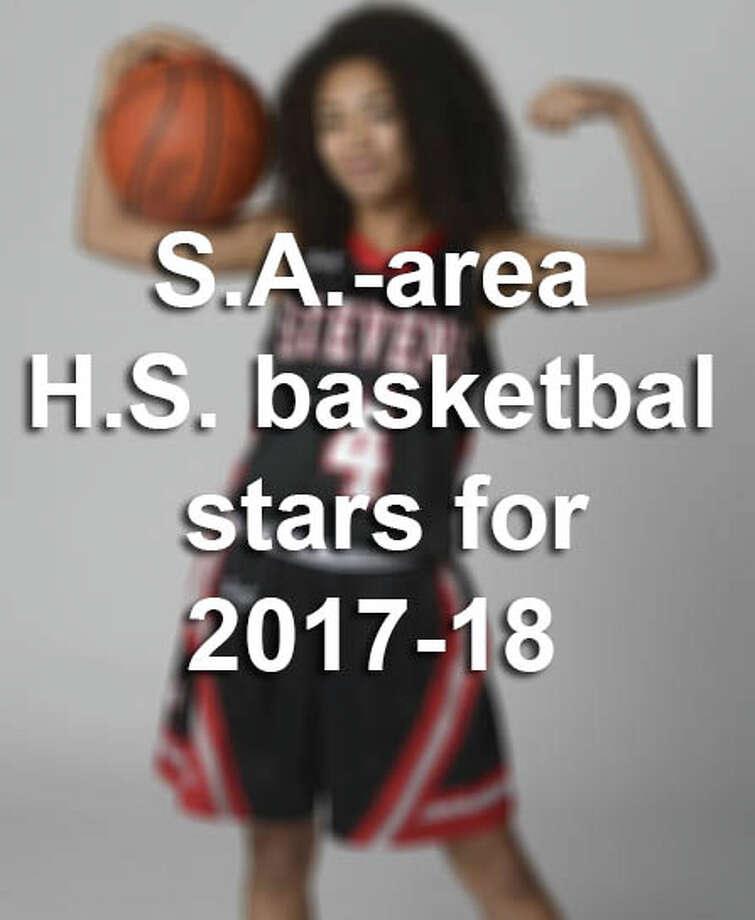 26 San Antonio-area high school basketball stars to watch for in the 2017-18 season Photo: Billy Calzada/San Antonio Express-News