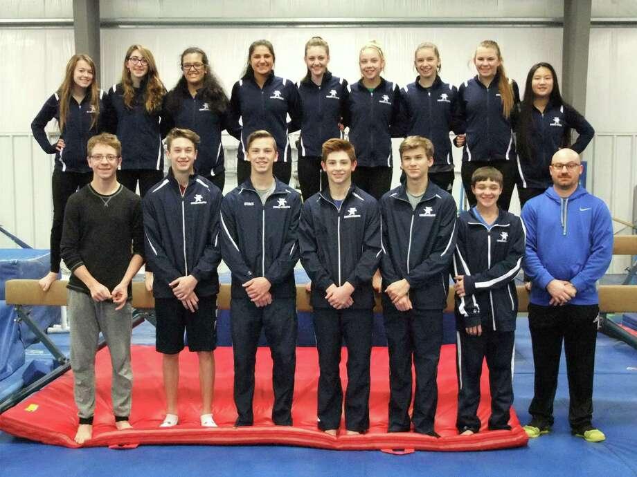 The 2017-2018 Kingwood High School gymnastics team Photo: Cathy Alsup