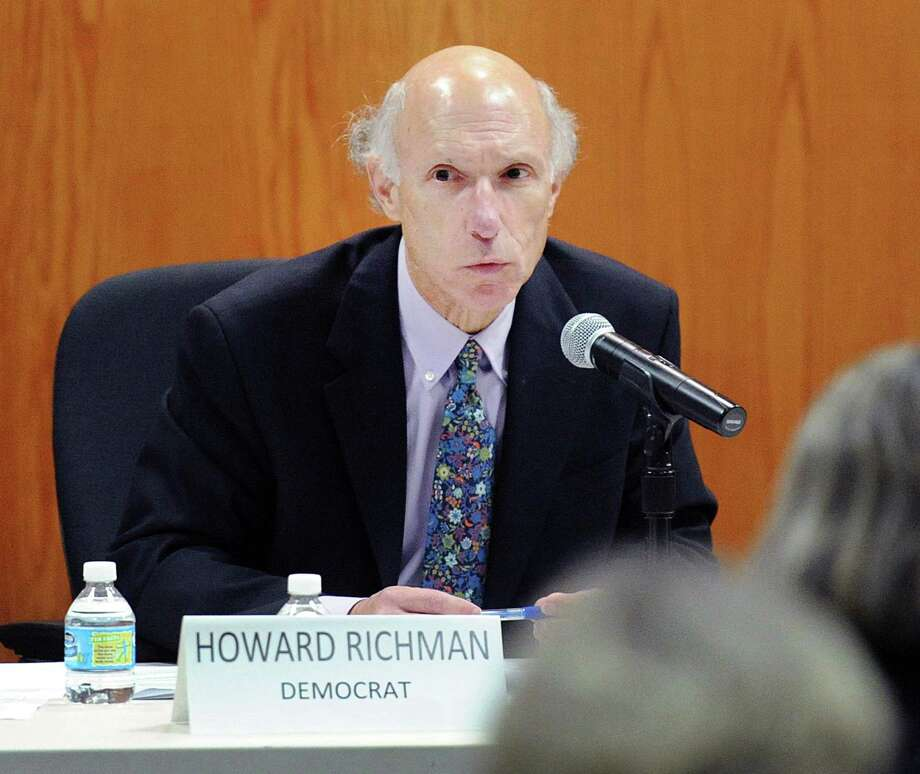 Howard Richman. Photo: Bob Luckey Jr. / Hearst Connecticut Media / Greenwich Time